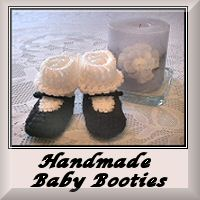 Link to Handmade Baby Booties